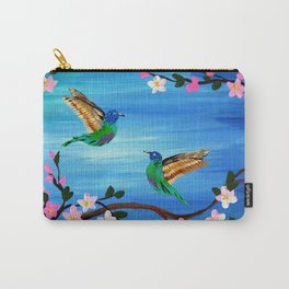 Our Lives Entwined Carry-All Pouch