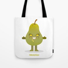 'Grizzly Pear' Robotic Tote Bag