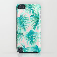 Paradise Palms Blush iPod touch Slim Case