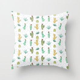 Cactus SERIE - CACTI LOVE Throw Pillow