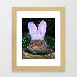 Easter Dragon Framed Art Print