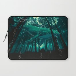 Forest Whale Music Laptop Sleeve