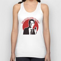 laura palmer Tank Tops featuring Who killed Laura Palmer twin peaks by Buby87
