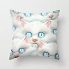 Kittehz I Throw Pillow