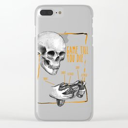 game till you die Clear iPhone Case
