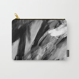 Abstract Artwork Greyscale #1 Carry-All Pouch