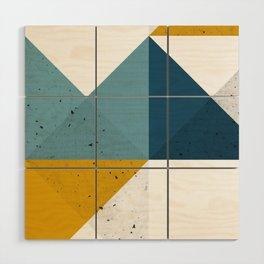 Modern Geometric 19 Wood Wall Art