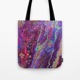 Green Pour Inverted 8 Tote Bag