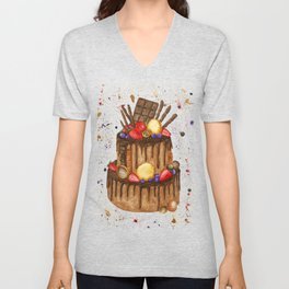 Chocolate sensation Unisex V-Neck