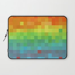 Pixel Rainbow Laptop Sleeve
