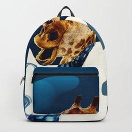 girafe funny world Backpack