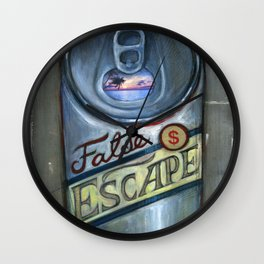 Escapism Wall Clock