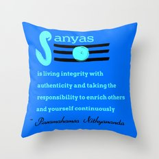 What is Sanyas? Throw Pillow