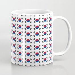flag of south korea-korea,asia, 서울특별시,부산광역시, 한국,seoul Coffee Mug