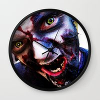 zombies Wall Clocks featuring Zombies ! by bobbierachelle