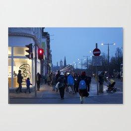 Princes Street Edinburgh 1 Canvas Print
