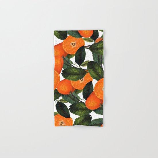 The Forbidden Orange #society6 #decor #buyart Hand & Bath Towel