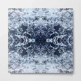 Frostbite from the glacier Metal Print