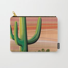 Saguaro Cactus in Desert Carry-All Pouch