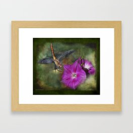 Because - Tapestry Framed Art Print