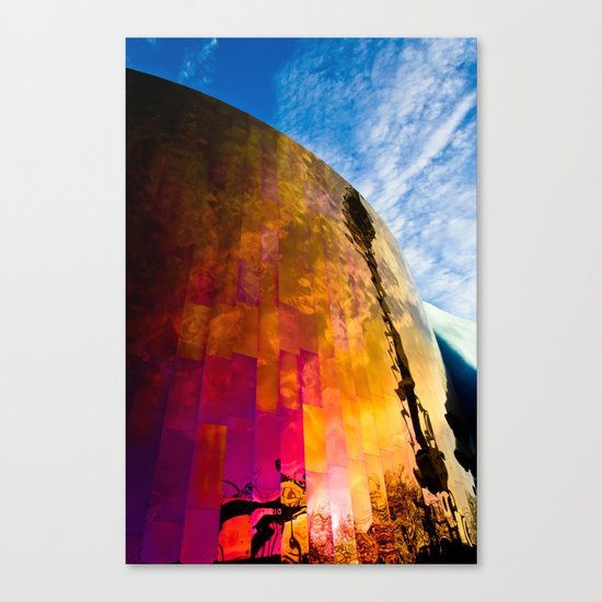 Firewall Canvas Print