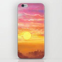 Under the sun iPhone Skin