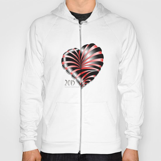 Forever love Valentine Illustration Hoody