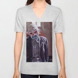 The Sad Clown Of Gotham Unisex V-Neck