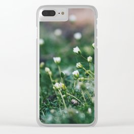 Fairy Moss Clear iPhone Case