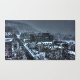 McGill University and Mont-Royal, Montreal Canvas Print