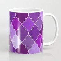 morocco Mugs featuring Morocco Orchid by Jacqueline Maldonado