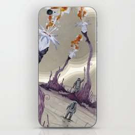fire from outer space iPhone Skin
