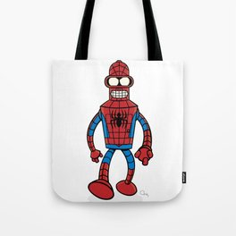 Spenderman Tote Bag