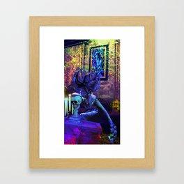 Monday Mourning Framed Art Print