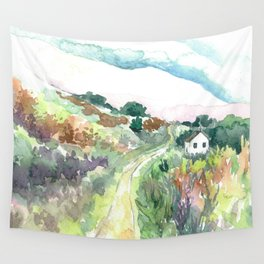 The Journey Home Wall Tapestry