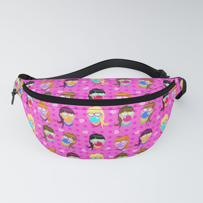 Bubble_Gum_girls_Fanny_Pack_by_Live_in_Paper__One_Size__fits_23_to_52_around_
