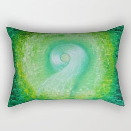 Green way Rectangular Pillow