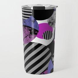 an-ARC-hy! (Abstract, geometric, sphere, circle, pop art, chaotic, eclectic, random artwork) Travel Mug