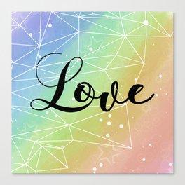 Love is Universal Canvas Print