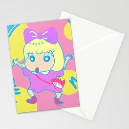 kyary shin chan Stationery Cards