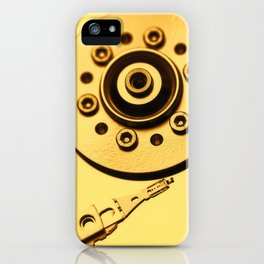 Computer Hard Drive 4 iPhone Case