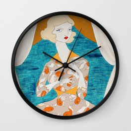The color of choosing Wall Clock
