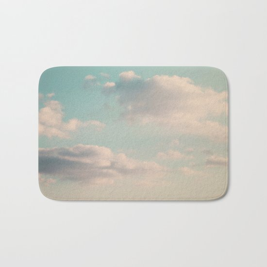 An endless affair with the upper atmosphere Bath Mat