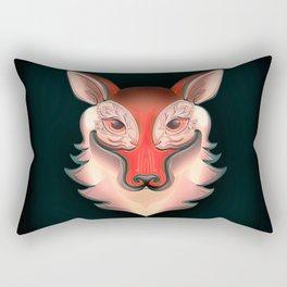 Fox Rabbit Rectangular Pillow