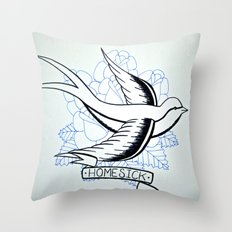 Dirty - Homesick Throw Pillow