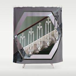 Stairway to Heaven - Hexagon Shower Curtain
