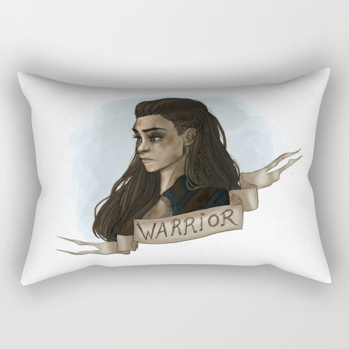 Warrior Rectangular Pillow