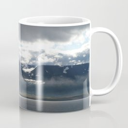 Sun on an Icelandic Fjord Coffee Mug