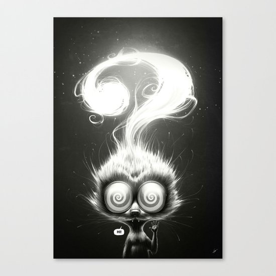 Question! Canvas Print