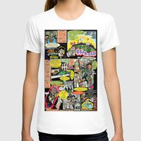 canada T-shirts featuring Vivita Spa KOMIX #1 by Tex Watt